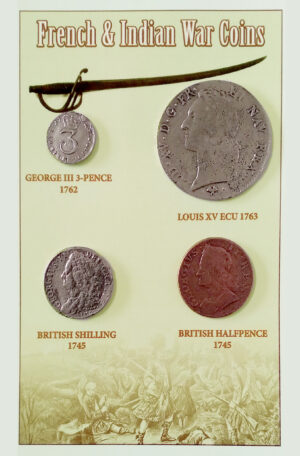 French & Indian War Coin Set